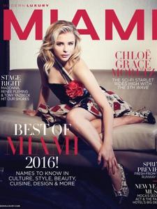 Chlo&#235;Moretz2016<ModernLuxury 杂志高清多图