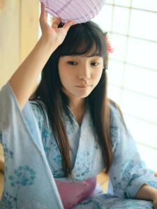 日系和服美少女私房茶道文静小巧
