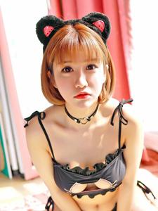 可爱小萝莉K8傲娇萌萌性感猫女装私房诱惑