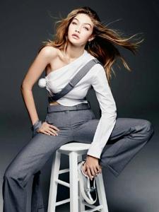 三月中国版Vogue封面人物GigiHadid