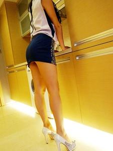 白领丽人高跟鞋丝袜美女林沫制服写真