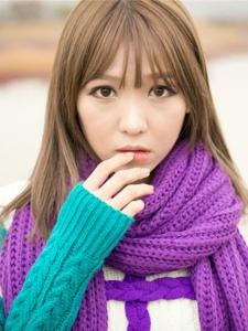 韓國清純女神李恩慧冬季清新戶外寫真溫馨動人