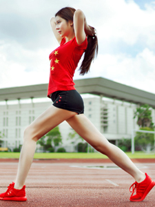 运动少女助力里约奥运会体育写真