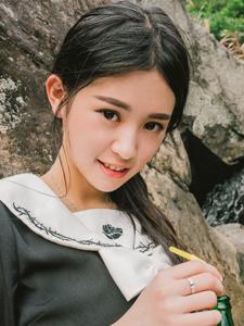 漂亮的日本邻家女孩甜美温馨湿身写真