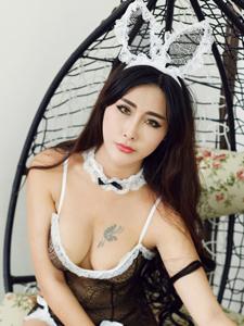 性感兔女郎孟狐貍巨乳誘惑寫真