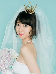 日本甜美女星柏木由纪炫色甜蜜写真