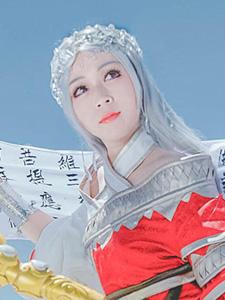 剑网三女少林古风cosplay写真