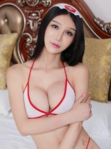 情趣女王李宓儿护士制服妖娆妩媚