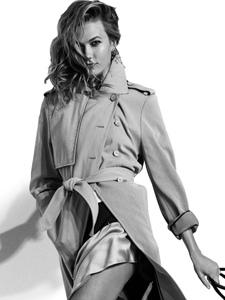 时尚超模KarlieKloss演绎精彩杂志大片