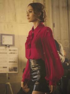 莉莉-羅絲·麥洛蒂·德普雜志大片拍攝花絮組圖
