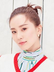 刘诗诗时尚迷人春季清新女神写真