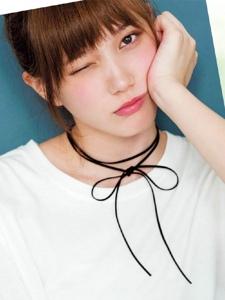 甜美日系女星本田翼美妆杂志扫图