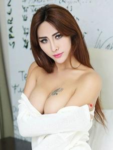 妩媚美女孟狐狸大奶翘臀极致诱惑写真