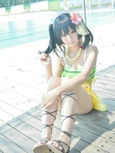 lovelive夏色えがおで1,2,Jump!矢泽妮可心爱诱人