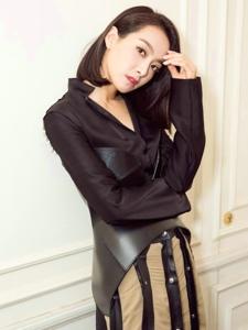 宋茜是LOEWE首次邀请中国女星共赴巴黎时装周