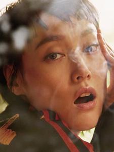 日本女星菊地凛子杂志写真