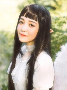 精灵精细少女日系梦境色彩写真