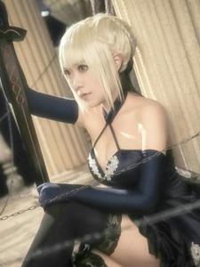 Fate/GrandOrder阿尔托利亚•潘多拉贡忍不住想要摸一把