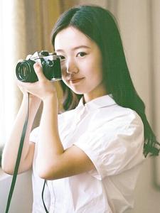 清新氧气摄影少女清纯恬静