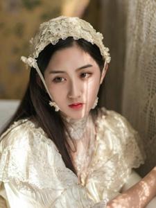 私房古典复古中分美女娇美动人美眸