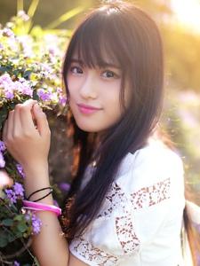亚洲美女清纯童颜可爱迷人写真