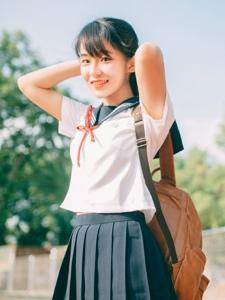 校服元氣少女可愛清新甜美誘人