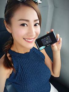 香港模特朱智賢曼妙身材甜美誘惑