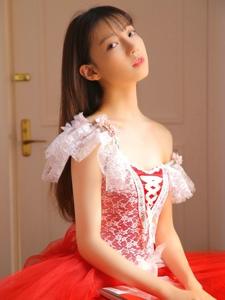 娇艳私房内的芭蕾舞少女清纯养眼