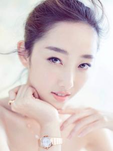 蒋梦婕笑靥如花清纯气质绝美惊艳