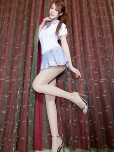 俏媚少女私房肉丝美腿秀丽清甜白净可人