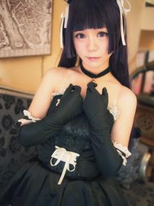 我的妹妹哪有这么可爱!五更琉璃黑猫