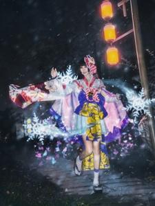 陰陽師雪女雪景美如畫