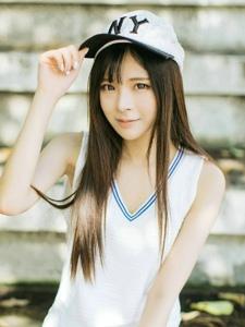 棒球帽妹子戶外清爽運動裝嬌俏可人