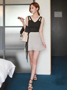 韓國骨感美女酒店寫真秀嫩腿誘惑