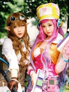 气质少女精灵写真唯美cosplay