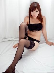 蕾丝袜女孩性感内衣妖娆美腿诱惑写真