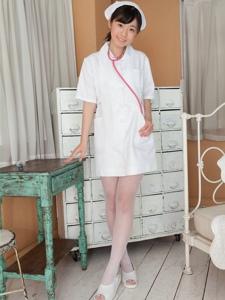 日本性感护士美女美腿白色网袜高清诱惑写真