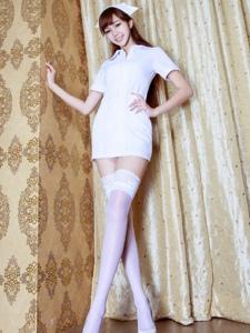 清纯性感丝袜女护士火辣迷人妖娆诱惑写真