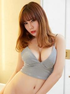性感尤物沐子熙人体写真巨乳诱惑写真