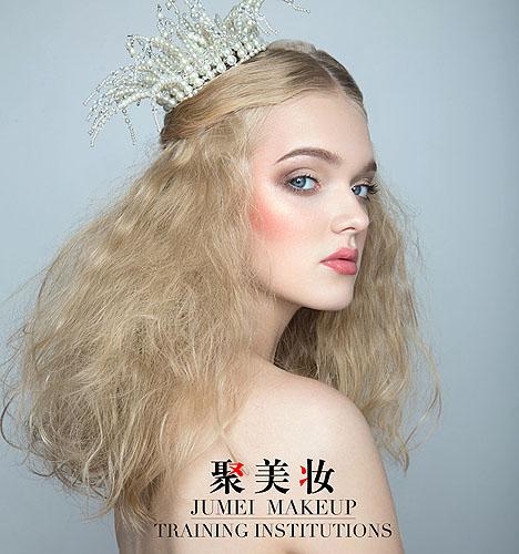 妆容  作者:聚美妆培训机构