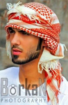 帅的一塌糊涂 阿拉伯阿联酋模特
