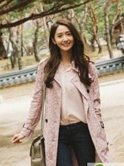 韩国女星林允儿发型 时尚甜美女神范十足
