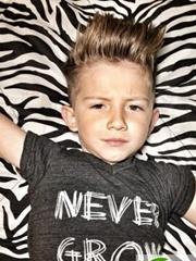 幼儿园男生小坏蛋发型 2016最新流行男童发型图片