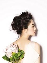 李小冉杂志旧照 空灵如花带刺