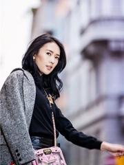 童瑶甜美演绎中性风 帅气可爱潮范十足