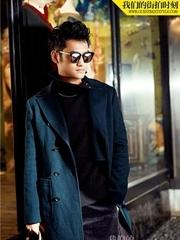 袁弘最新时尚街拍 帅气摩登示范冬日穿搭