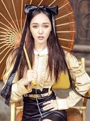 唐嫣东方少女与西方时尚的碰撞
