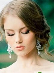 高贵优雅范的新娘盘发