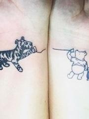 30款有关母女亲情主题纹身图案
