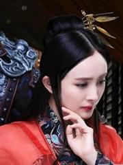 杨幂cos虞姬 轻纱红衣演艺倾城美人